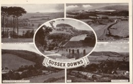 AP22 Sussex Downs Multiview Postcard - Other