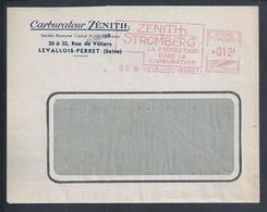 Zénith Car Carburetor.Streamer 'Zenith Stromberg' Circled 1950.Zénith Autovergaser.Streamer 'Zenith Stromberg'.Rare. - Factories & Industries