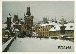 Praha (Cecoslovacchia) Malostranské Mostecké Veze, Lesser Town Bridge - Repubblica Ceca