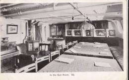 AN70 Royal Navy Postcard - In The Gun Room - Warships