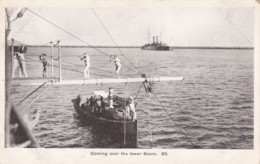 AN70 Royal Navy Postcard - Coming Over The Lower Boom - Warships