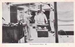 AN70 Royal Navy Postcard - The Armourer's Shop - Warships