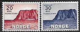 Norway   1938   Sc#B9-10 Cape Set   MNH    2016 Scott Value $27.50 - Norway