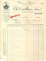 59.NORD.LILLE.PHARMACIE BRUNEAU,CH.C.TAILLIAR 71 RUE NATIONALE. - Chemist's (drugstore) & Perfumery