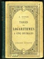 Tables De Logarithmes - Livres, BD, Revues