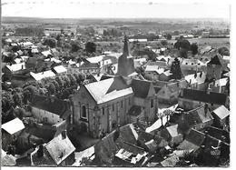 En Avion Au Dessus De ...LES AIX-D'ANGILLON - L' Eglise - Les Aix-d'Angillon