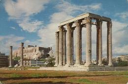 Athens (Atene, Grecia) Temple Of Olympius Zeus, Temple De Zeus Olympico, Jupiter Tempel - Grecia