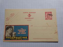 Postkarte/carte Postale Publicitaire 75c Et -10% - 1946 -10%