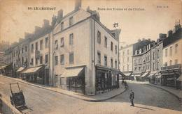 Le Creusot édition JG 89 Rue Des Ecoles Et De Chalon - Le Creusot