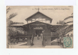 Carte Postale Marseille Vignette Exposition Coloniale. CAD Hexagonal Exposition Coloniale 1906. (872) - Marcophilie (Lettres)