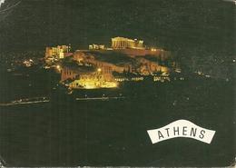 """Athens (Atene, Grecia) The Acropolis Illuminated, L'Acropole Illuminée, """"Crociera Amici Vegè"""" 1-8 Ottobre 1978 - Grecia"""