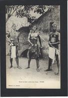 CPA Togo Afrique Noire Guerrier Armes Non Circulé - Togo