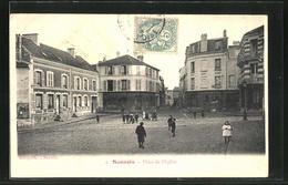 CPA Sannois, Place De L' Eglise - Sannois