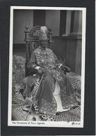 CPA Ouganda Uganda Afrique Noire Royalty King Non Circulé - Uganda