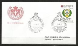 1987 SOVRANO ORDINE DI MALTA SMOM  Capo Verde PA Fdc Viaggiata, Bellissima - Malte (Ordre De)
