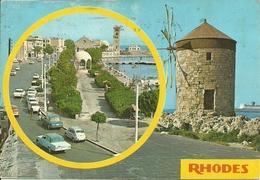 Rodhes (Rodi, Grecia) Views, Vues, Vedute, Ansicht - Grecia
