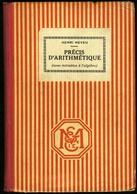 Précis D' ARITHMETIQUE - 1931 - Livres, BD, Revues
