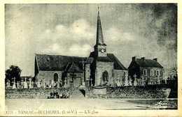 Miniac Sous Bécherel (35) : L'église - France