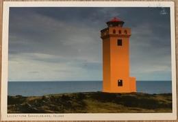 Leuchtturm Saxholsbjarg Auf Island ...Lighthouse Saxholsbjarg On Iceland - Lighthouses