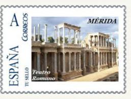 "Spain 2008– España ""Tu Sello"". Sello Personalizado Del ""Teatro Romano"" De Mérida - Archeologia"