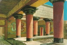 Crete (Creta, Grecia) Cnossos, Big Staircace Veranda Of The Royal Guard - Grecia