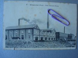 WASQUECHAL : Usine HANNART Frères En 1911 - Industrie