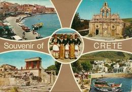 Crete (Creta, Grecia) Views, Vues, Ansicht, Vedute E Scorci Panoramici - Grecia