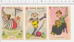 Humour Sport Football Vintage Ancien Ballon De Foot En Cuir  / 124/6-D - Unclassified