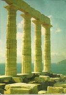 Cape Sounion (Cap Sunion, Grecia) Temple Of Poseidon, Temple De Poseidon, Poseidon Tempel - Grecia