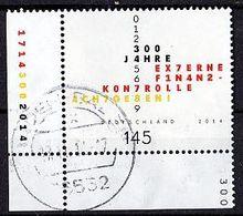 BRD Mi. Nr. 3106 O Eckrand Unten Links (A-1-16) - BRD
