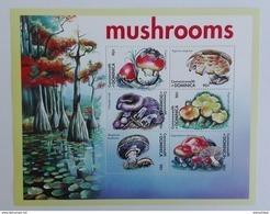 Dominica 2001** Klb.3176-81. Mushrooms MNH [17;61] - Mushrooms