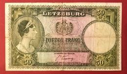 Luxembourg - Billet De Banque - 50 Francs 1944 - Luxembourg