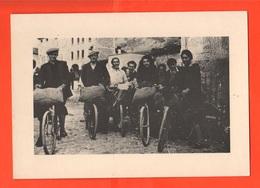 Combai Treviso Cpa  Dei Venditori Di Marroni Anni '70 - Ambulanti