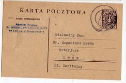 Poland Ukraine Lvov Lwow Lawyer 1919 - 1919-1939 Republik