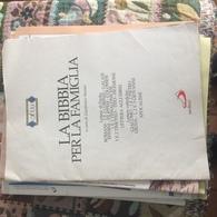LA BIBBIA PER LA FAMIGLIA - Livres, BD, Revues