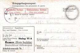 Stalag VI A, Hemer Kreis Iserlohn - Poststempel (Briefe)