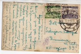 Poland Gdynia Adverisement Postmark 1938 - 1919-1939 Republic