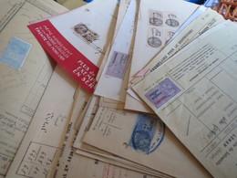 Lot De Timbres Fiscaux Sur 35 Documents - Fiscaux