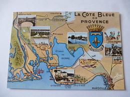 MARTIGUES (13) : LA COTE BLEU DE PROVENCE - CPM Illustrée - Voir Les 2 Scans - Martigues