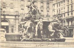 CPA - LYON - FONTAINE BARTHOLDI (1904) - Lyon
