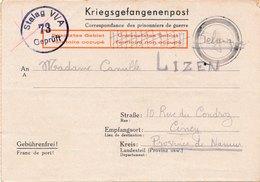 Stalag VI A, Hemer Kreis Iserlohn Pour La Belgique - 2. Weltkrieg 1939-1945