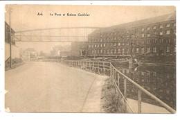 ATH    Le Pont Et Usines Cambier ( Voir Scan ) - Ath