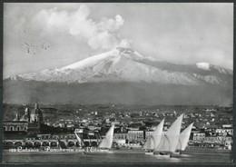 Ansichtskarte   -Italien   Catania - Panorama Con L' Etna 1958 - Catania