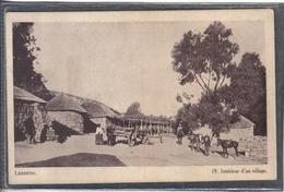 Carte Postale  Afrique Lesotho  Intérieur D'un Village Très Beau Plan - Lesotho