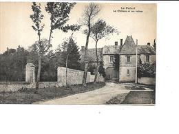 28-LE PUISET-( Janville)-Une Vue Du Chateau Et Ses Ruines - Otros Municipios
