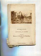ALGERIE(CENTENAIRE DE L ALGERIE) VOYAGE DU PRESIDENT DE LE REPUBLIQUE(1930) - Oude Documenten