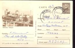 ENERGY, TELEAJEN OIL REFINERY, PC STATIONERY, ENTIER POSTAL, 1965, ROMANIA - Oil
