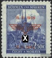 Bohemia And Moravia 84 Unmounted Mint / Never Hinged 1942 Protectorate - Bohemia & Moravia