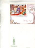 MENUS(SAINT GALMIER) SOURCE BADOIT(FETE JAPONAIS)E - Menus