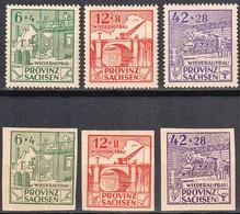 ALLEMAGNE 1945 - OCCUPATION SOVIETIQUE  - Séries Complètes** - Saxe - - Soviet Zone